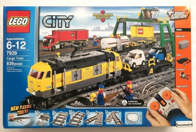 Lego City Cargo Train 7939 Set Power Functions | eBay
