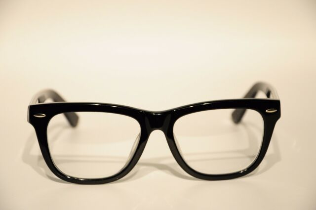 zenni optical acetate full rim frame eyeglasses black 52 18 147 new - Zenni Optical Frames