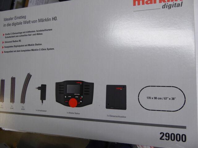 Märklin 29000 H0 Digital-Startpackung Mobile Station MS2 & Gleisoval R2 NEUWARE