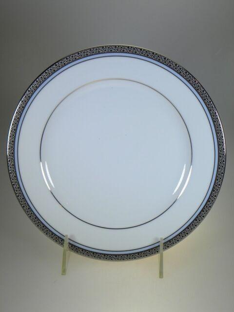 Noritake Piedmont Platinum Salad Plate NEW WITH TAGS & Noritake Piedmont Platinum Salad Plates Set of 4 With Tags | eBay