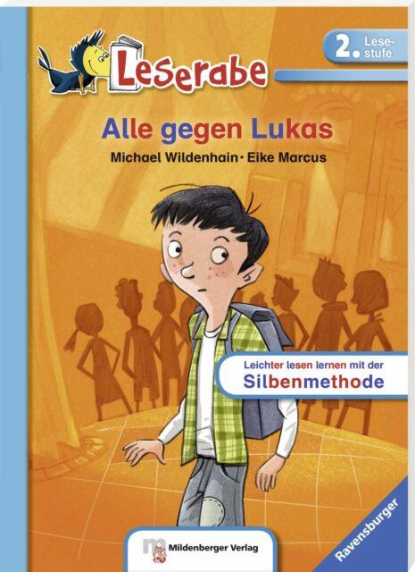 Leserabe Lesestufe 2 Alle gegen Lukas Schulausgabe Softcover Ravensburger +BONUS