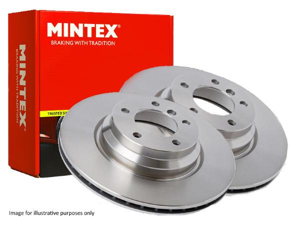 GENUINE NEW MINTEX 2 x Front Brake Disc MDC1067 MG ZT, Rover 75