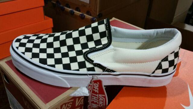 vans checkerboard slip on ebay