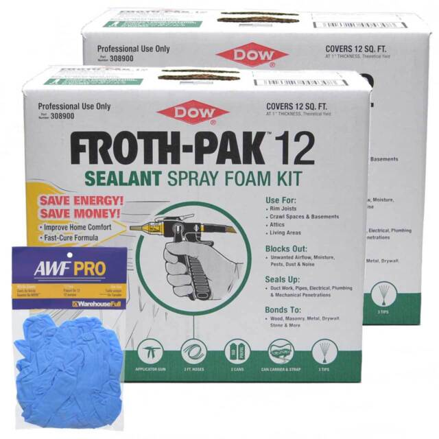 Dow Froth Pak 12 Spray Foam 308900 Ebay
