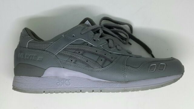ASICS Onitsuka Tiger Gel Lyte 3 Uomo Verde in Pelle Casual Con Lacci UK 8