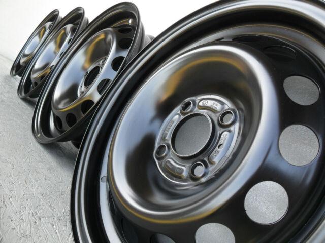 NEU 4x Stahlfelgen Felgen 5,5x14 ET24 4x108 65mm Peugeot 206 Stufenheck Schräghe