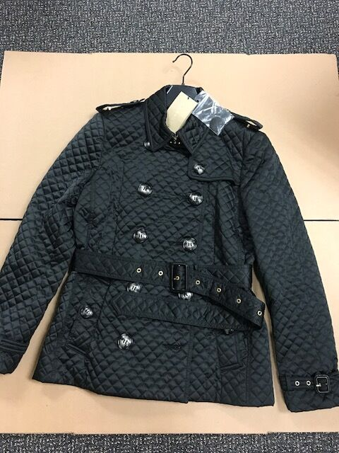 Burberry Brit Oxleigh Quilted Jacket Woomens Jacket Black Size L ... : burberry quilted jacket ebay - Adamdwight.com