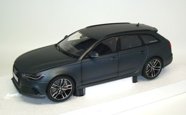 audi rs6 avant daytona grau matt 1 18 minichamps ebay. Black Bedroom Furniture Sets. Home Design Ideas
