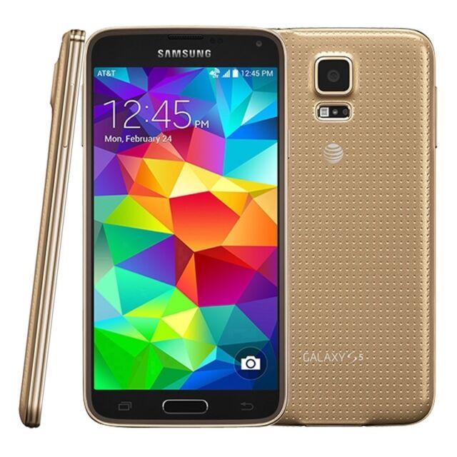 SAMSUNG GALAXY S5  SM-G900F 16GB GOLD