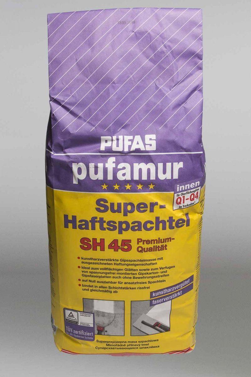 pufas pufamur super adhesive trowel sh 45 premium quality 25kg wall