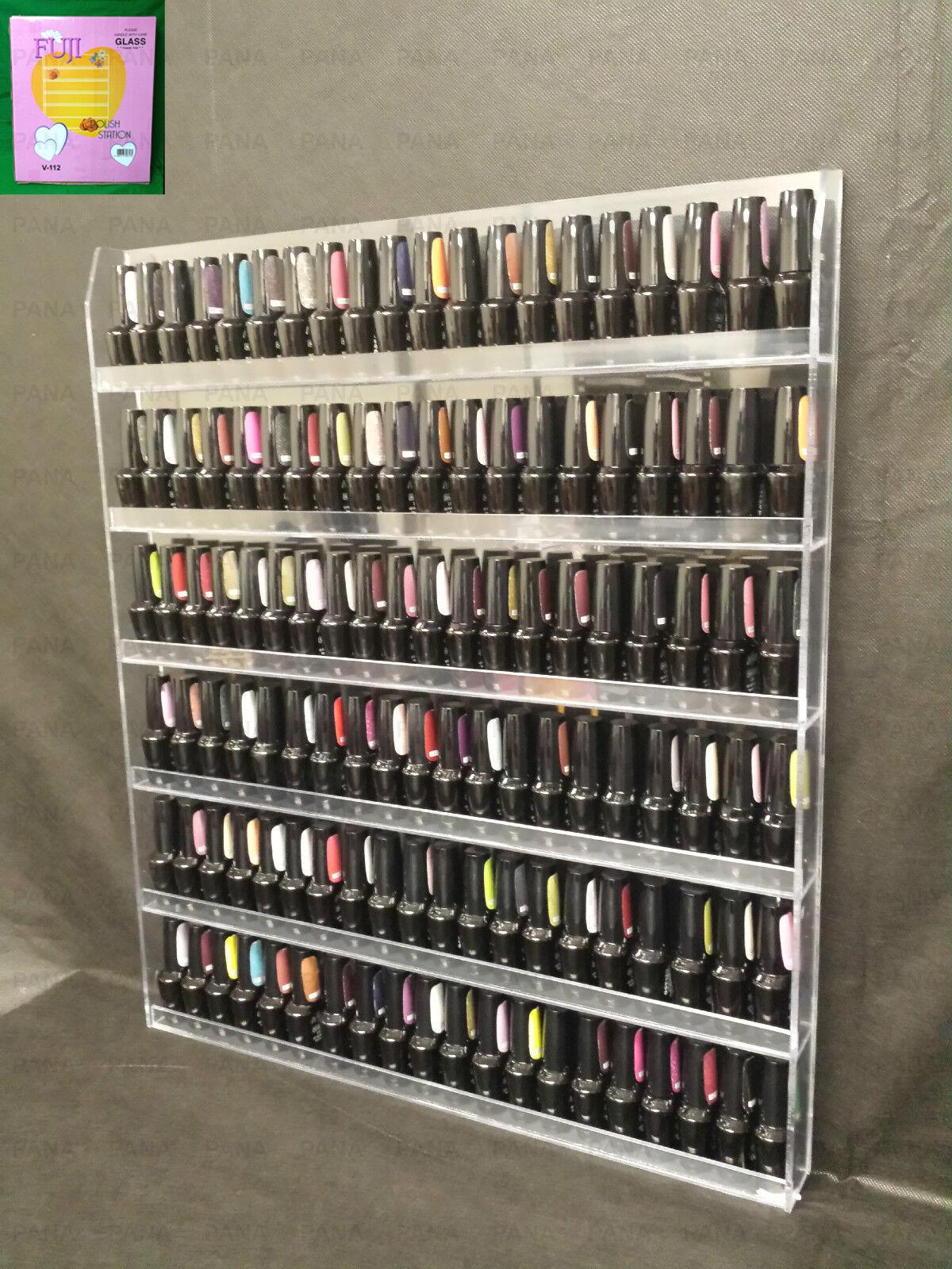 Uncategorized Nail Polish Wall Rack fuji nails acrylic nail polish wall rack organizer display ebay picture 1 of 11