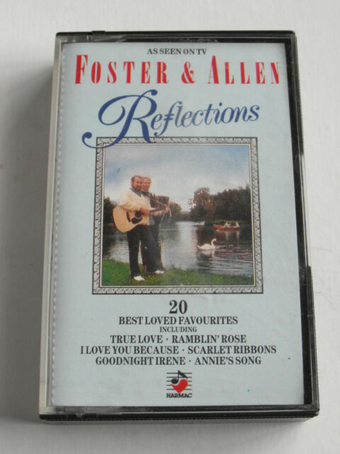 Foster & Allen - Reflections - Cassette Tape, Used Very Good