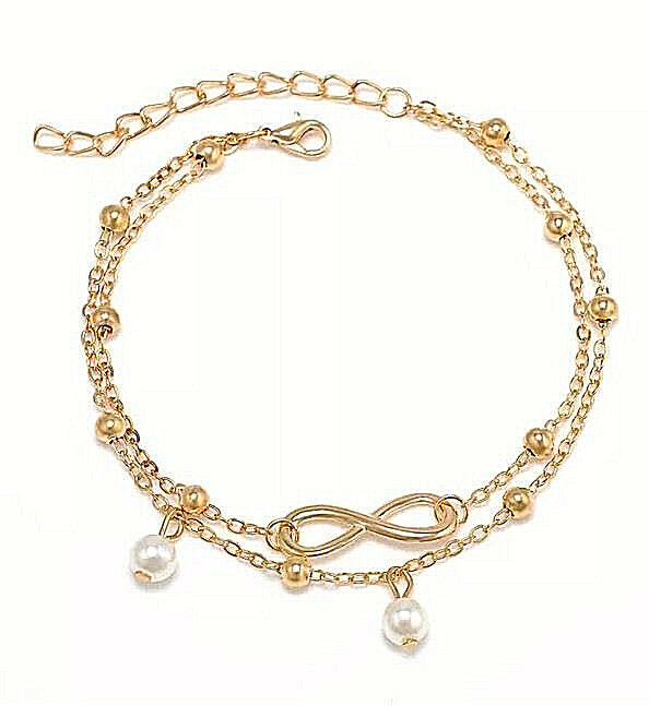 sterling chain infinity symbol annie forever dp with haak bracelet silver adjustable