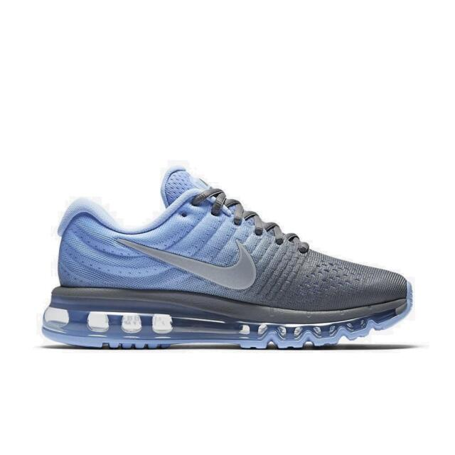 Womens AIR MAX 2017 Blue Running Trainers 849560 002