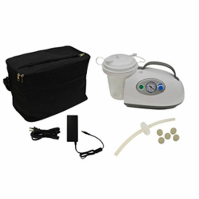 Medical Vacuum Extractor Machine ~ Roscoe medical portable suction machine w dc battery