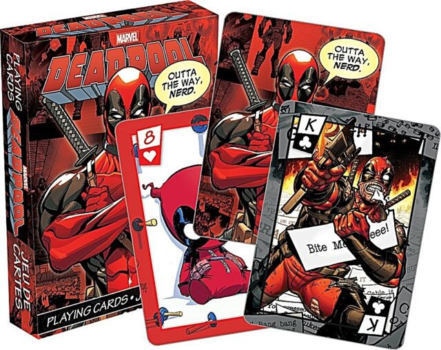 Marvel Deadpool set of 52 playing cards (+ jokers)  (nm)