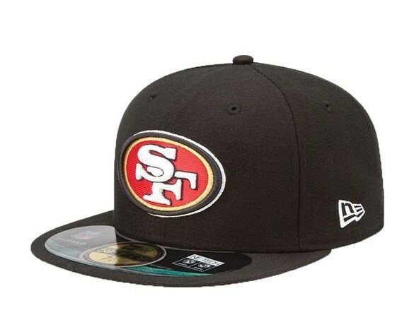 brand new 07b59 8e712 new zealand san francisco 49ers era 59fifty on field nfl fitted baseball cap  hat 7 ebay