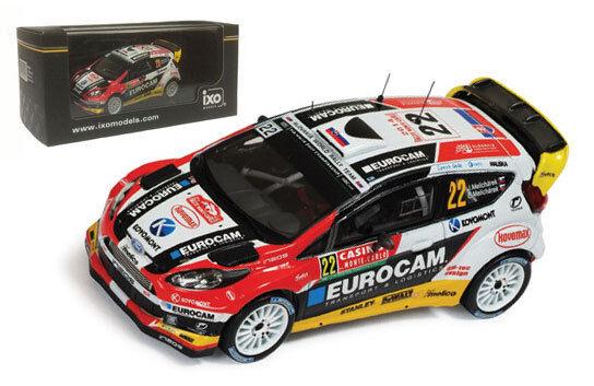 IXO RAM570 Ford Fiesta RS #22 WRC Monte Carlo 2014 - J Melicharek 1/43 Scale