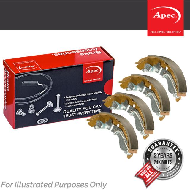 Genuine OE Quality Apec Rear Brake Shoe Set - SHU691