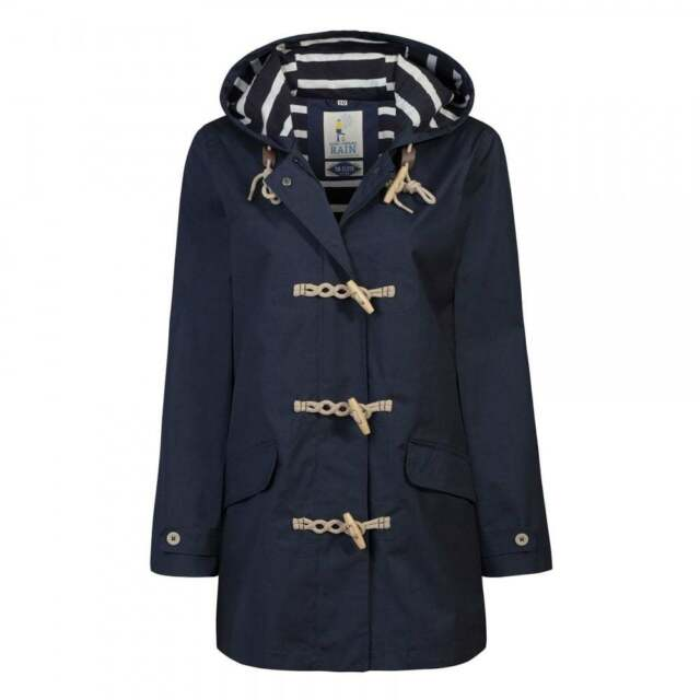 Seasalt Long Seafolly Jacket - Squid Ink. Navy Blue Waterproof ...
