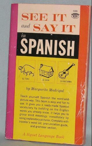 See it and say it see it and say it in spanish by margarita see it and say it in spanish solutioingenieria Image collections