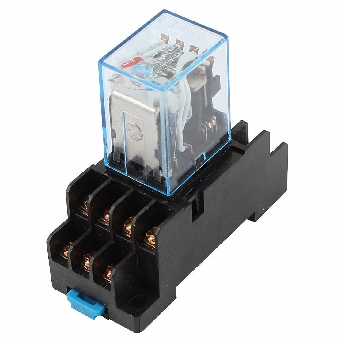 Hh54p AC 12v Coil 4pdt 14 Pins Electromagnetic Power Relay W Dyf14a