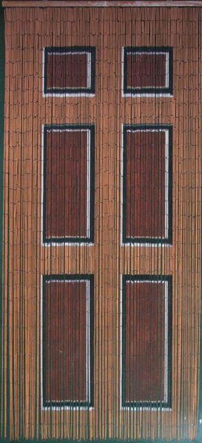 Beaded Door Curtains Bamboo Bead Curtain Drapes Hanging Room Divider Art Wooden & Beaded Door Curtains Bamboo Bead Curtain Drapes Hanging Room Divider ...