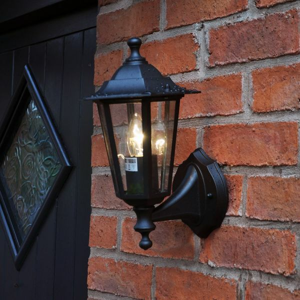 Outdoor traditional victorian wall lantern 240v garden security outdoor traditional victorian wall lantern 240v garden security light lamp out5 ebay aloadofball Gallery