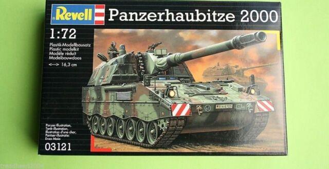 Panzerhaubitze 2000 SPG 1/72 Scale Revell Military Kit 3121