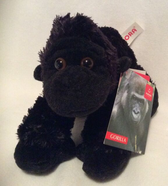 "Aurora - Gorilla - 8"" Plush -  Brand New"
