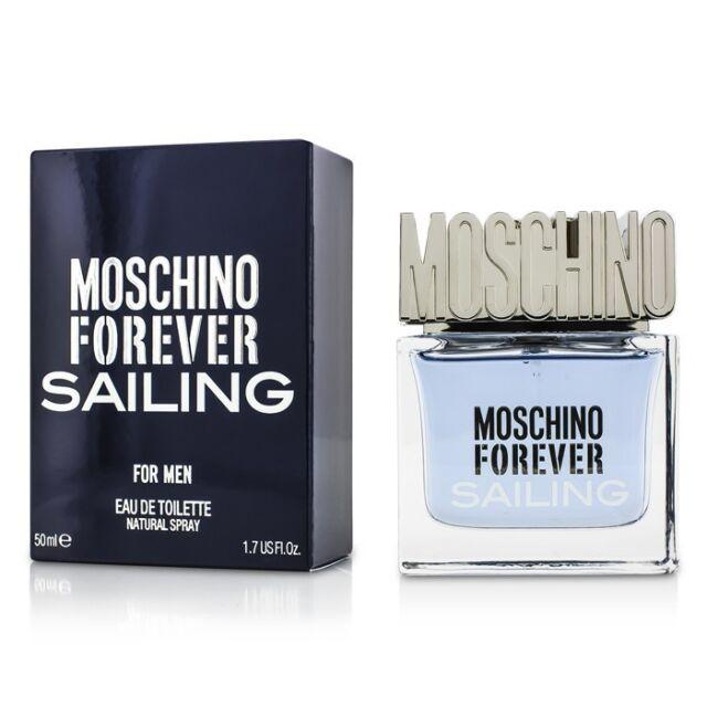 Moschino Forever Sailing EDT Eau De Toilette Spray 50ml Mens Cologne