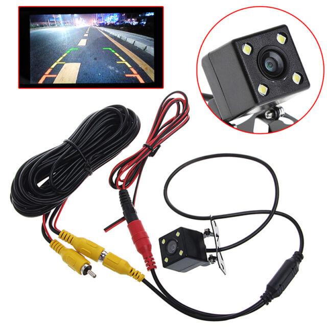 Night Vision Waterproof  Anti Fog  Car Rear View Reverse Backup 170° CMOS Camera