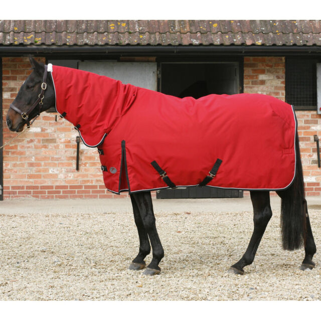 Jhl 400g Super Heavy Weight Combo Attached Neck Heavyweight Horse Le Rug