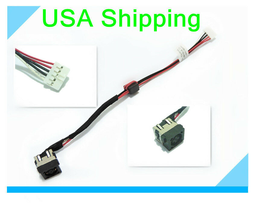 Genuine OEM Dell Inspiron 17r Laptop DC Power Jack W/ Cable ...