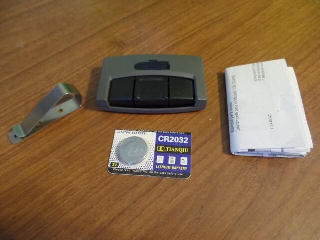 Craftsman Garage Door Remote 30498 Control Opener Chamberlain