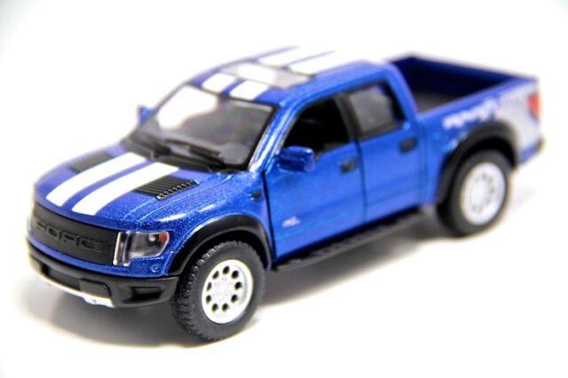 Ford F  Svt Raptor Stripes Cast Model