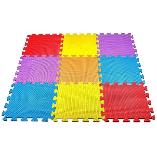 Baby Play Mat Foam Floor Puzzle 9 Tiles Toddler Activity