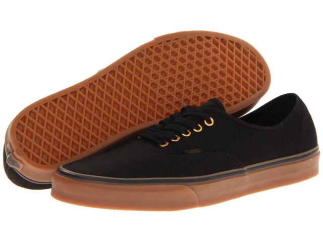 Furgonetas Auténticas Zapatillas De Deporte De Los Zapatos De Goma Negra De Los Hombres 0tsvbxh svQoUg