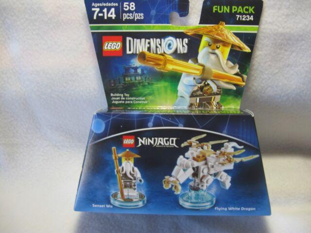 Lego Dimensions Ninjago Flying White Dragon Fun Pack 71234   eBay