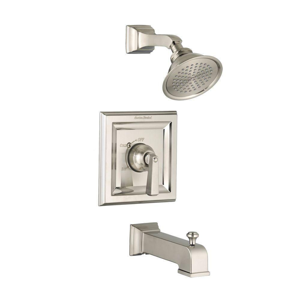American Standard T555.502.295 Tub & Shower Faucet Trim Kit Satin ...