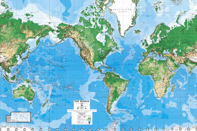 Environmental graphics c810 world map wall mural matte finish resntentobalflowflowcomponenttechnicalissues gumiabroncs Image collections
