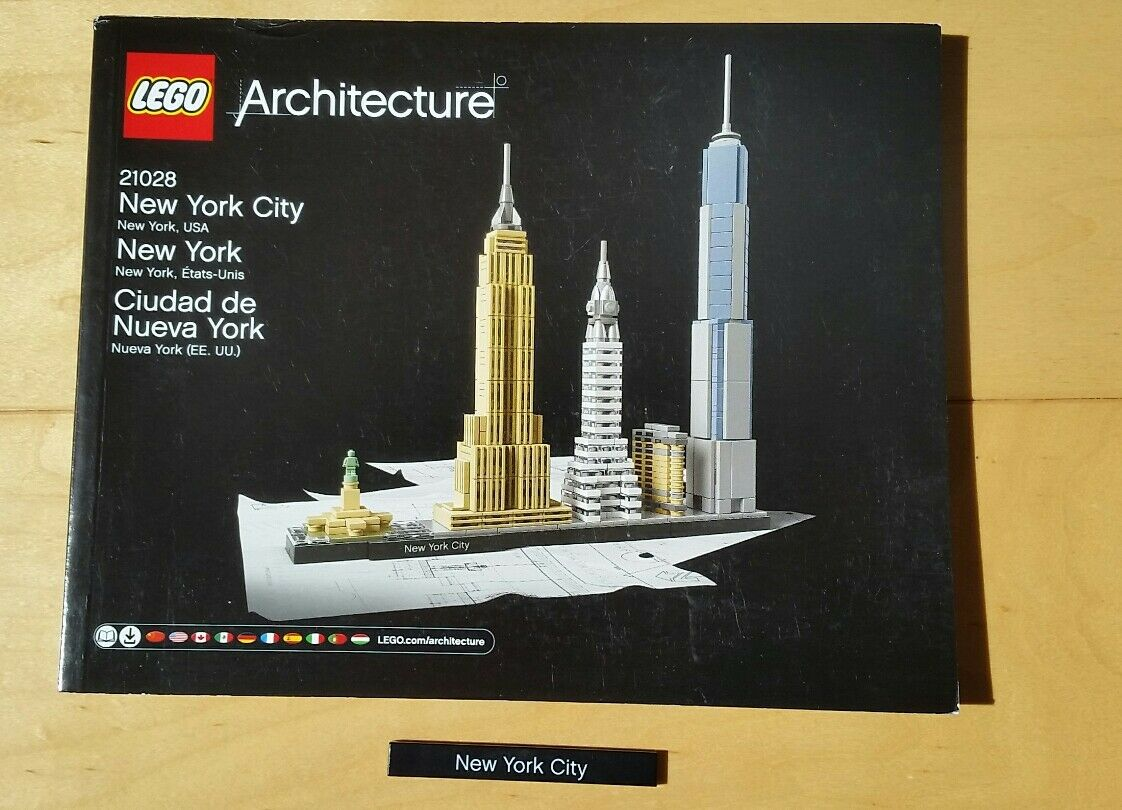 lego architecture new york. Brand New Lowest Price Lego Architecture York