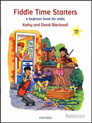 Fiddle Time Starters (Book/CD)  - Same Day P+P