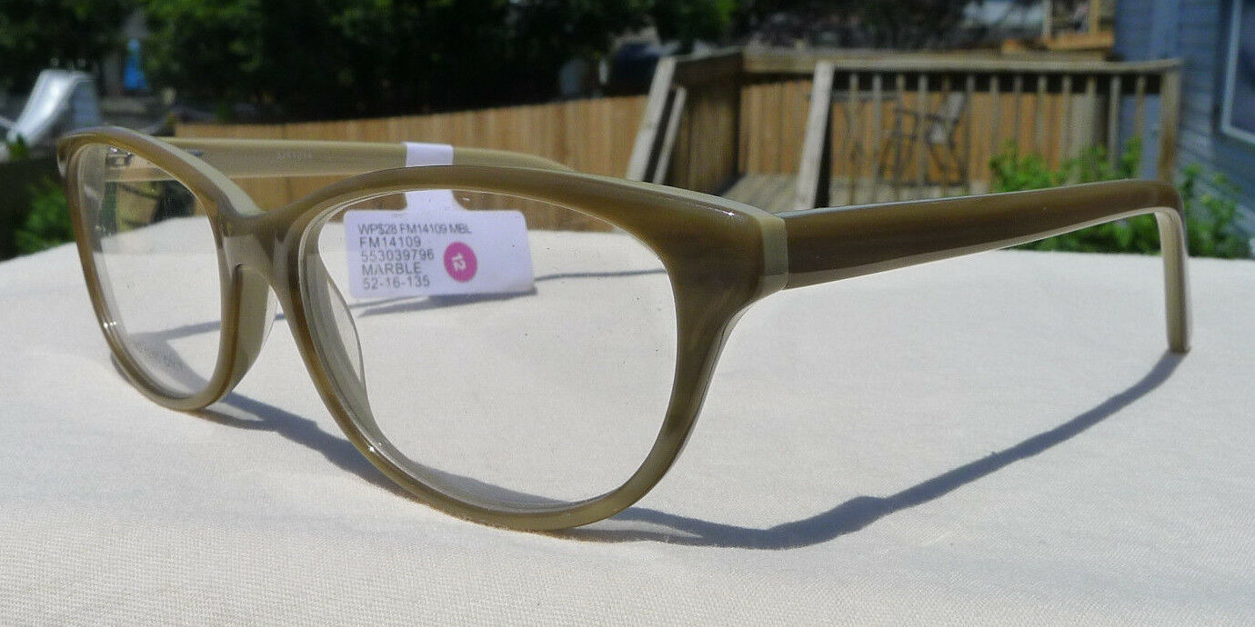 Contour Eyeglass Frames Brown Green Women\'s FM14109 Glasses Rx-able ...