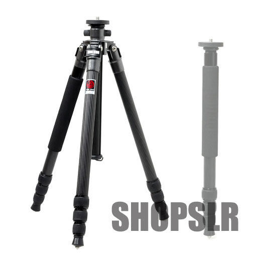 "Horusbennu C-2840V Professional Carbon Fiber Tripod (64"") Monopod Selfie Canon"