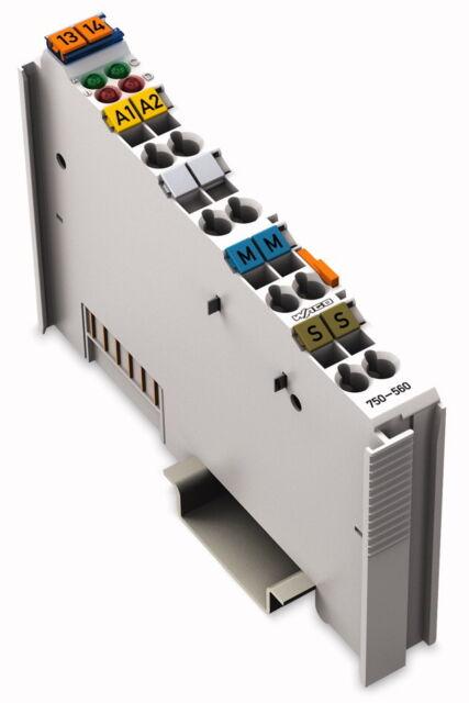 750-560 Wago   2-Kanal-Analogausgangsklemme; 0-10 V; 10 Bit; 10 mA