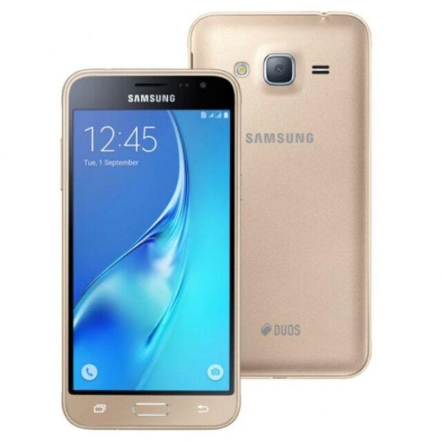 SMARTPHONE SAMSUNG GALAXY J3 - 2016 NUEVO Y LIBRE - BLANCO NEGRO Y ORO