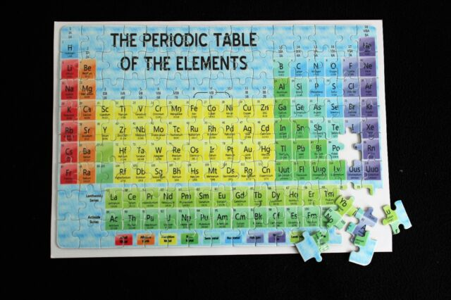 Periodic table chemistry gcse a level revision jigsaw ebay periodic table chemistry gcse a level revision jigsaw urtaz Gallery