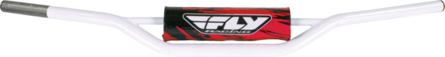 FLY RACING 1010 CARBON STEEL HANDLEBAR ATV (WHITE)