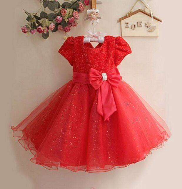 Girls Size 6 Red & White Christmas Dress Dresses Kids' Clothing, Shoes & Accs